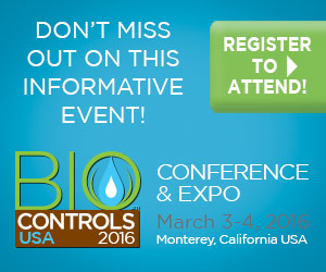 Biocontrols USA 2016 Conference & Expo