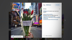 Society Of American Florists Uses Social Media To Take Women's Day To New Heights