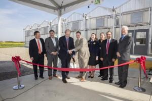 Bayer Greenhouse Ribbon Cutting