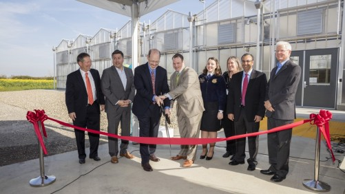 Bayer Opens New Greenhouse Research Facility In West Sacramento