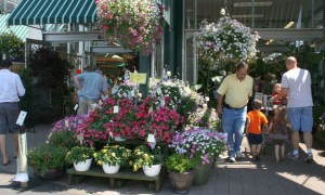 English Gardens customer at entrance FEATURE