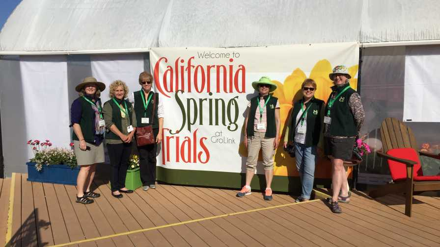 NGB Garden Bloggers At Spring Trials