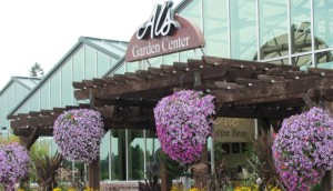 als garden center store front feature - Als Garden