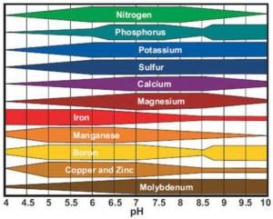 MSU Soil Testing Chart
