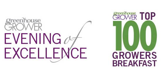 Evening of Excellence and Top 100 Growers Breakfast Logos