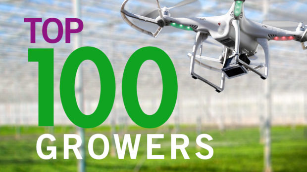 2016 Top 100 Growers With Drone