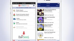 Ball Seed Offers Full Mobile Ordering Capabilities With Updated WebTrack To Go App
