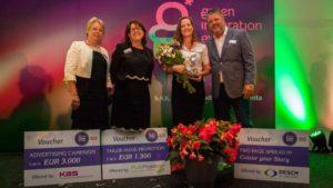 Begonia Hybrid 'Miss Malibu' Takes Home FleuroStar Award