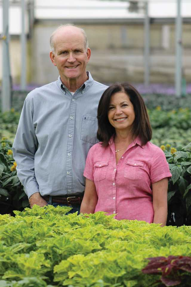 John and Janet Kister of Sunlet Nursery