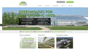 Growers Supply Launches GrowSpan Website With New Content And Product Offerings