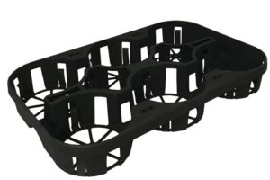 6-Count Carry Tray from McConkey Co