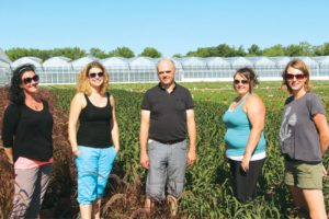 Albert Grimm and Jefferys Greenhouses team