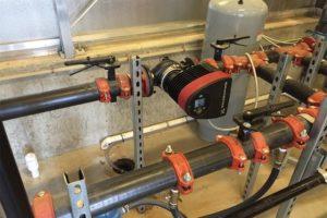 Delta T Floor Mounted Pump