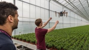 Dutch Tech Students Tackle Greenhouse Drones