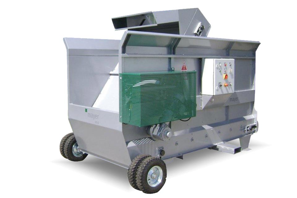 EM 6012 Soil Mixer, backward position