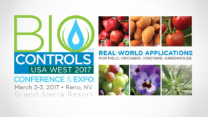 Save The Date For The Third Annual Biocontrols 2017 Conference & Expo