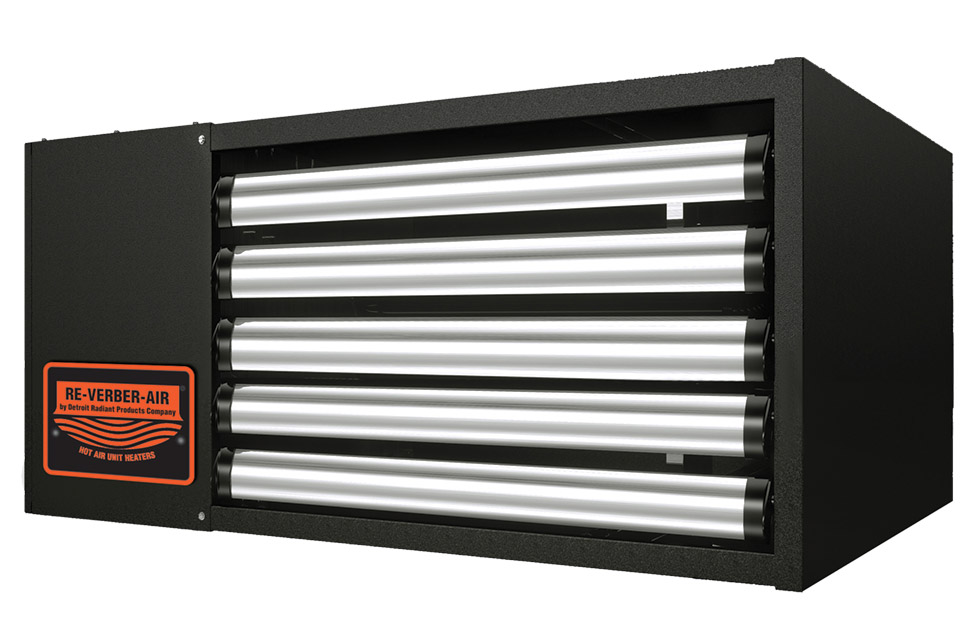 Re-Verber-Ray UH And FA Series Heaters (Detroit Radiant Products)