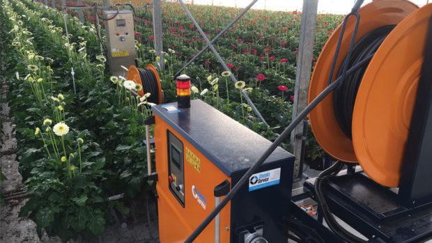 Ever Bloom Robot Sprayer feature