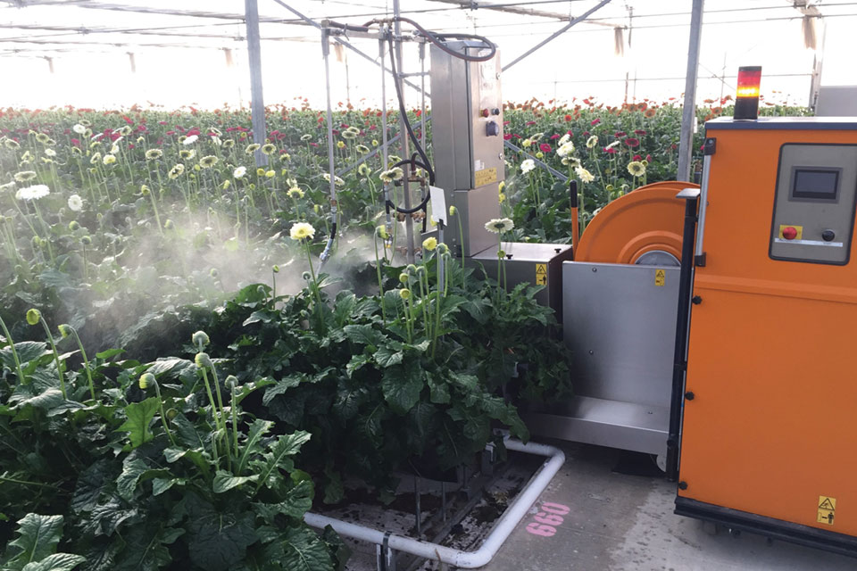 Ever Bloom Robot Sprayer