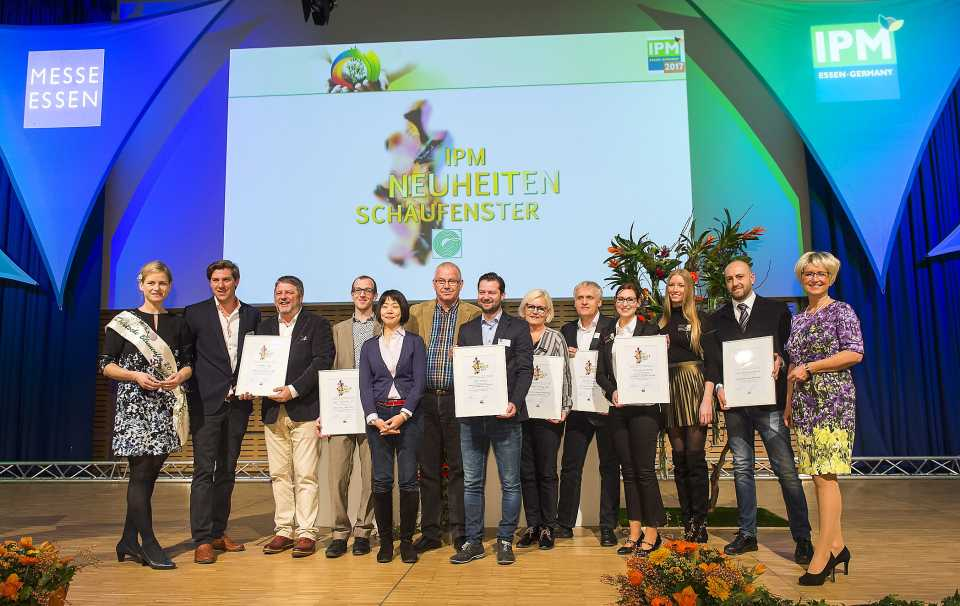 IPM Essen Plant Innovations Winners