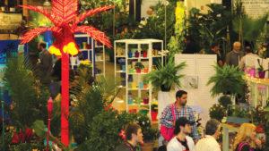 TPIE 2017 tradeshow floor