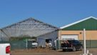 Nexus greenhouse construction for Knox Cannabis Facility