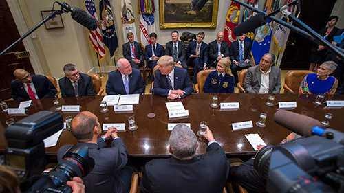 Trump Farmers Roundtable