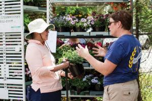 Plant Shopping at Metrolina Dig and Swig