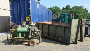 steam container for Weed Control