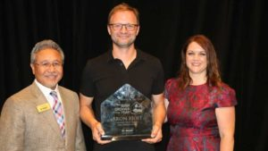 Aron Hoff of Meyers Fruit Farms and Greenhouses Named Head Grower of the Year at Cultivate'17
