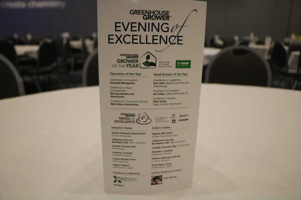 Evening of Excellence Sign
