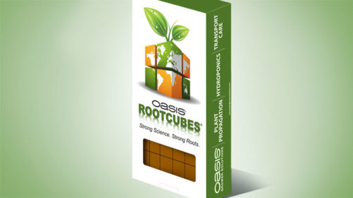 Smithers-Oasis Now Offering Rootcubes Foam Media in Retail Pack