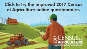 Have You Filled out Your 2017 Census of Agriculture Form Yet?