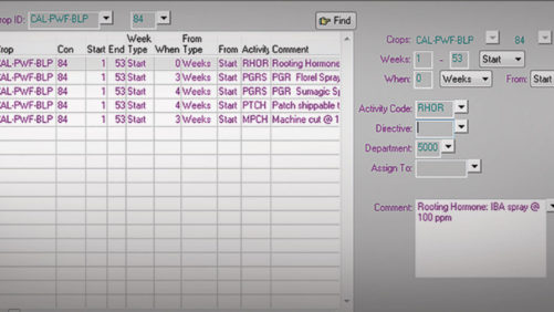 Using Greenhouse Software to Streamline Production Planning