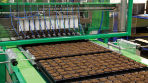 Save Labor by Filling Planting Trays Faster and Cleaner