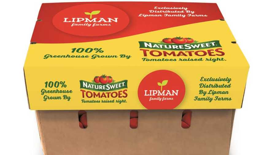 Lipman, NatureSweet Tomato Partnership Packaging