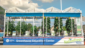 Greenhouse Education Center Shows Plant Growth From Farm to Table