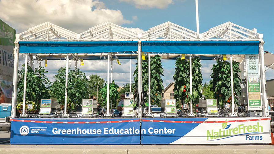 NatureFresh Farms Greenhouse Education Center