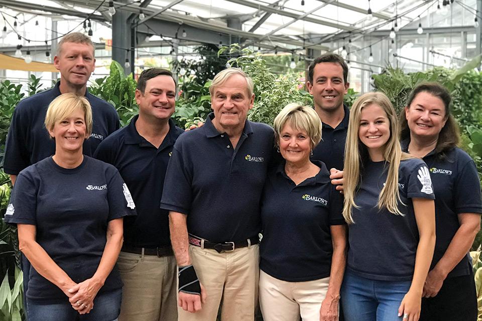 Barlow's Flower Farm Employees