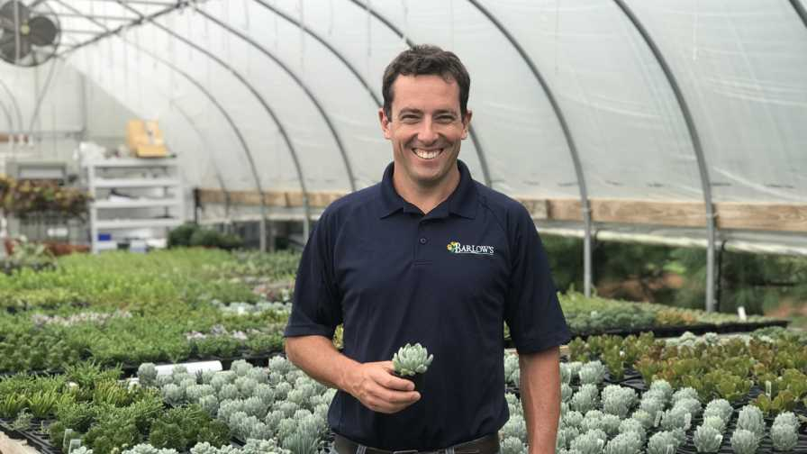 Stephen Barlow of Barlow's Flower Farm