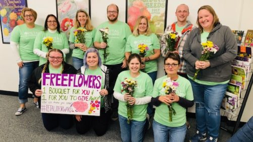 Petal It Forward Event a Hit Across the Country