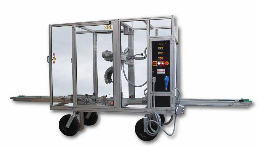 Hamilton Design TEA RAP-XRL-MAXI Plant trimming machine