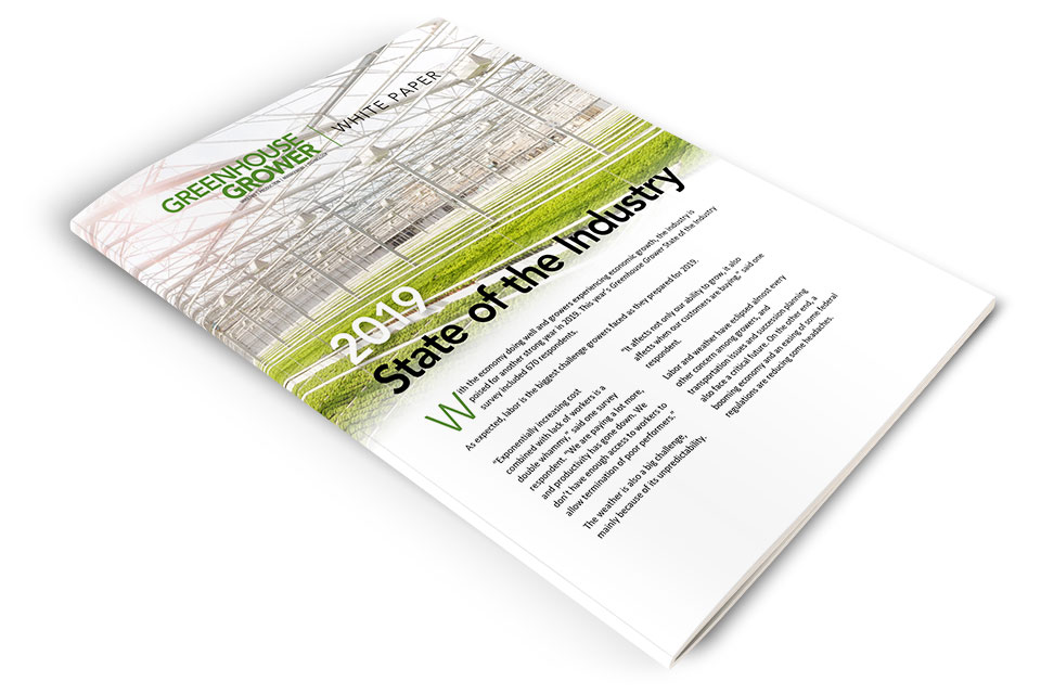 Download Your Copy of Greenhouse Grower's 2019 State of the Industry Whitepaper