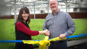 Skagit Horticulture Opens New Clean-Stock Greenhouse