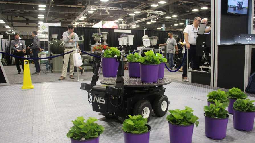 New Autonomous Robot Provides Labor Savings for Greenhouse