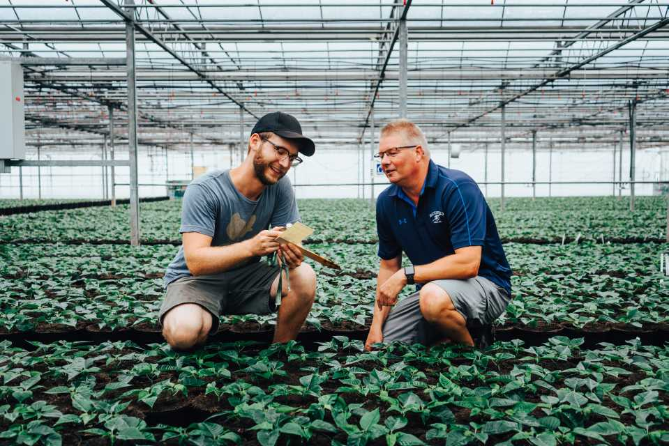 Marc Verdel and Growing Team at Battlefield Farms