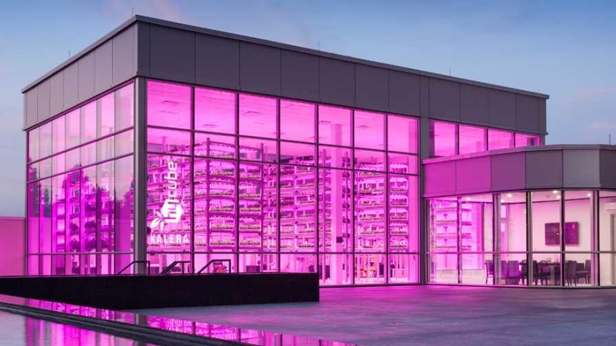 Hycube indoor farm/hydroponics rendering