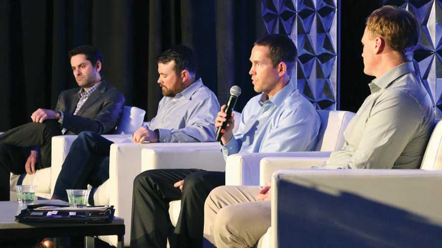 A group of produce growers participate at 2019 Vision Conference