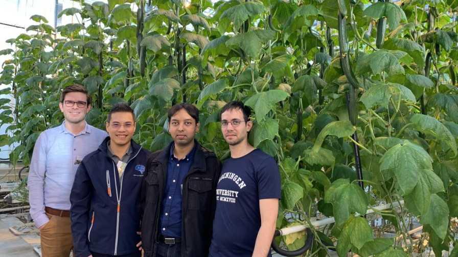 Team Sonoma from Microsoft Research's autonomous greenhouse