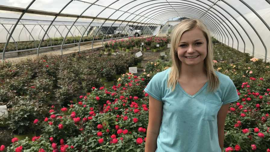 Loma Vista Nursery Intern Mallory